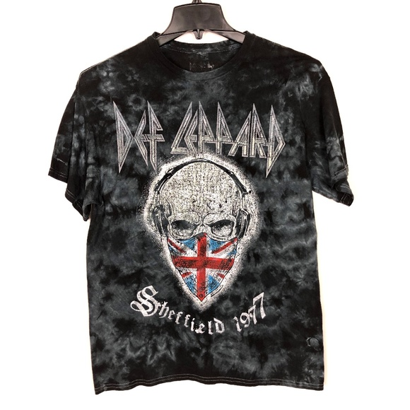Def Leppard Sheffield 1977 T-Shirt